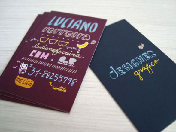 Cool Business Card Designs - Luciano Ferreira