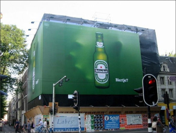 Creative Outdoor Advertising - Heineken