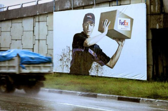 Creative Outdoor Advertising - FedEx