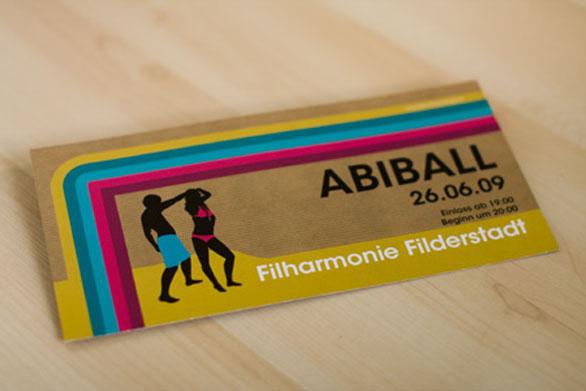 Custom Ticket Invitations - Ball