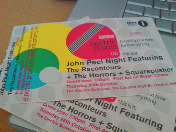 Custom Ticket invitations - BBC Proms