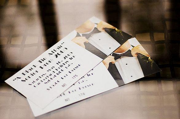 Custom Ticket Invitations - Tux