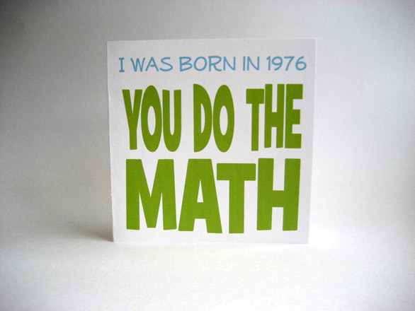 Greeting Card Images - You Do The Math