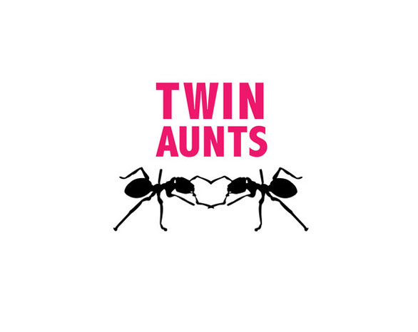 Greeting Card Images - Twin Aunts