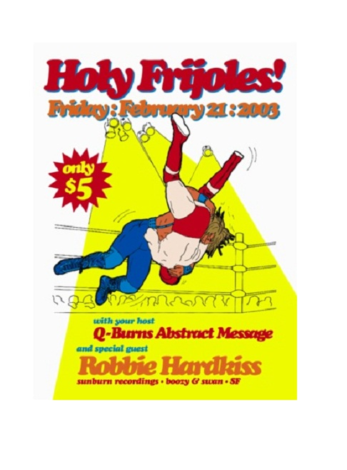 flyer design ideas - holy frijoles