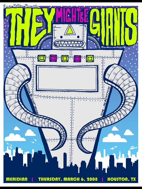flyer design ideas -they might be giants
