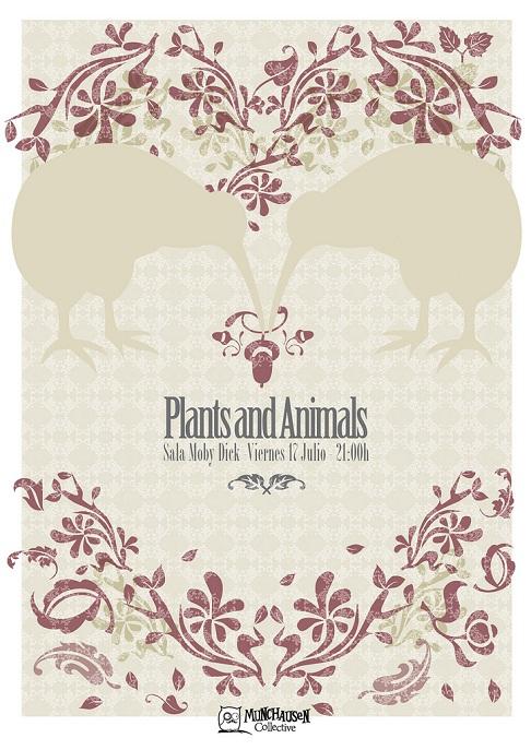 flyer design ideas - plants and animals