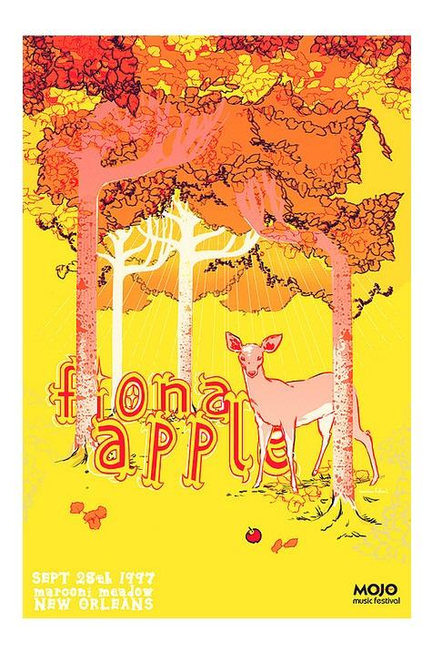 flyer design ideas - fiona apple