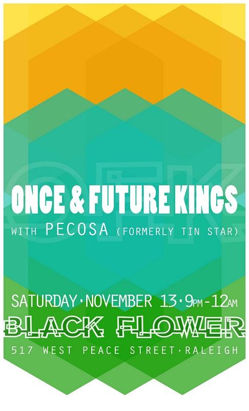 flyer design ideas - one & future kings