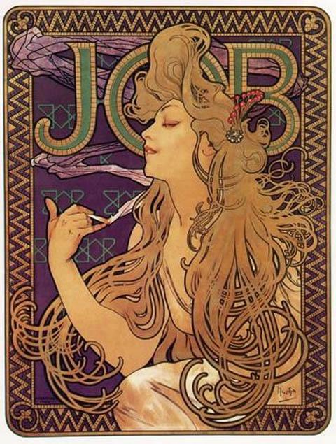 Art Nouveau Poster - job