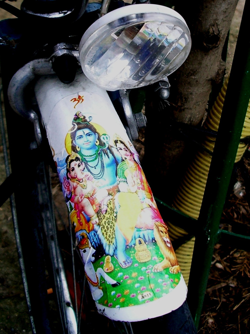 Bicycle Bumper Stickers - Hindu