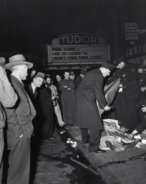 old pictures of new york - dead
