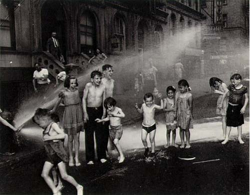 Old Pictures of New York -Summer, Lower East Side, 1937