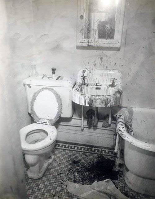 Old Pictures of New York - bathroom