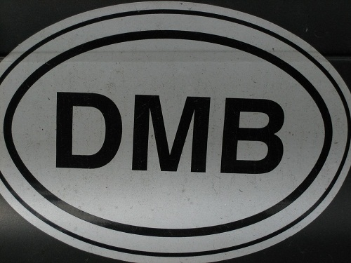 rock band stickers - dmb