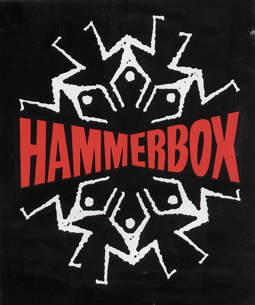 rock band stickers -hammerbox