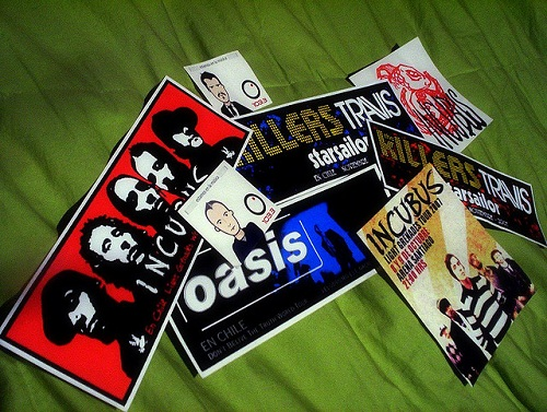 rock band stickers -various stickers