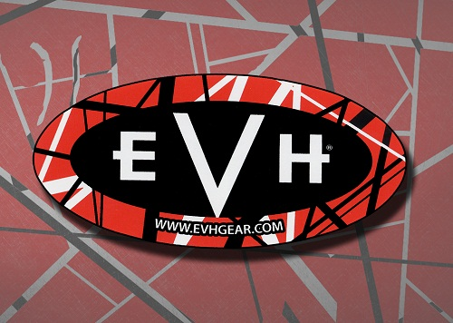 rock band stickers - van halen