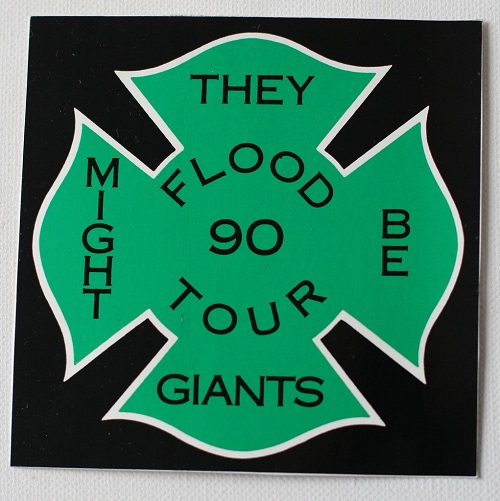 rock band stickers - they might be giants