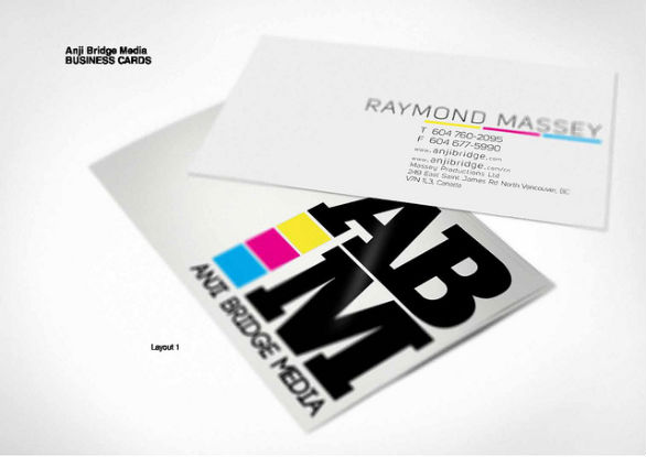 Sample Business Card Designs - ABM