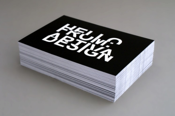 26 sample business card designs with awesome typography uprinting sample business card designs artiva design reheart Gallery