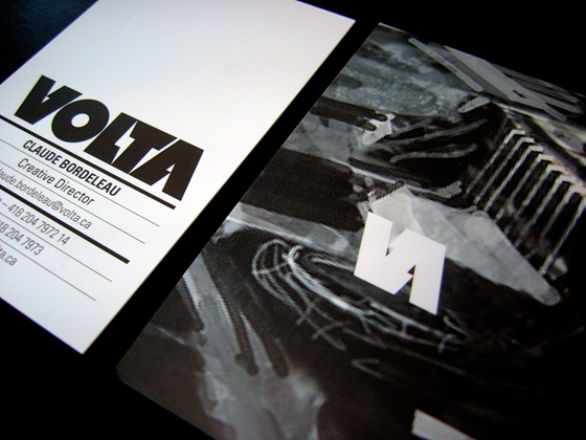 Sample Business Card Designs - VOLTA