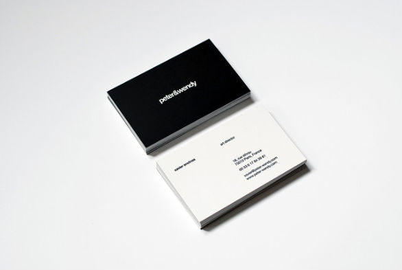 Sample Business Card Designs - Peter