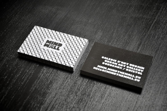 Sample Business Card Designs - Mind the Wall