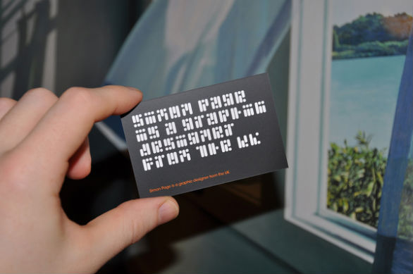 Sample Business Card Designs - Simon Page