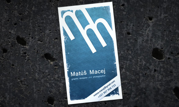 Sample Business Card Designs - Matus Macej
