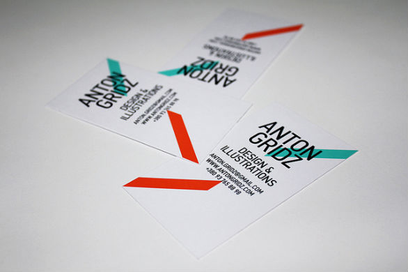 Sample Business Card Designs - Anton Gridz