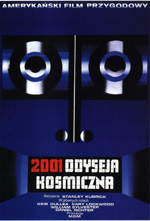 science fiction posters - polish 2001 poster