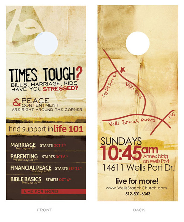 Inspiring Church Door Hangers And Other Design Related Tips