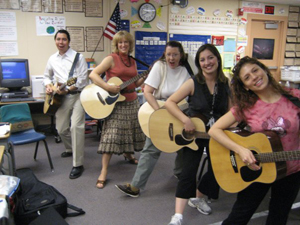 Guitars in the Classroom teachers