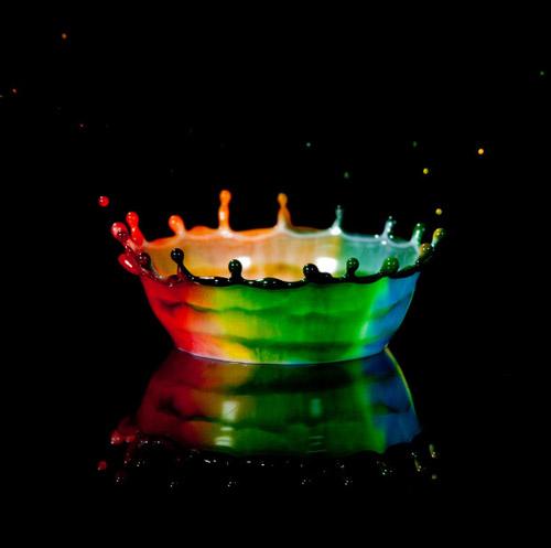 High Speed Photos - rainbow