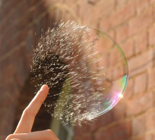 High Speed Photos - bubble