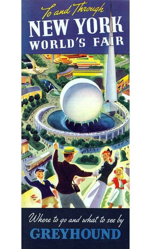 travel brochure examples - new york world's fair