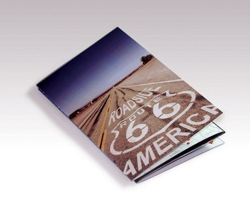 travel brochure examples - route 66
