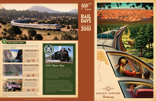 travel brochure examples - rail days 2010