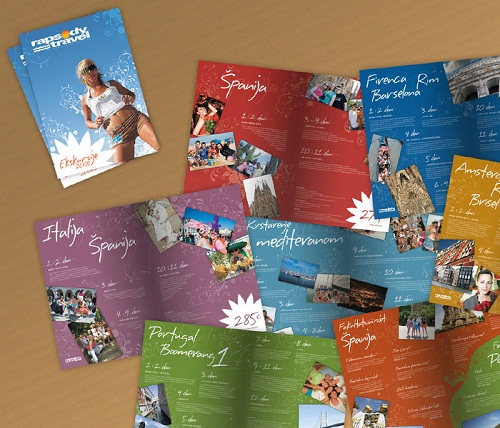 travel brochure examples - rapsody travel