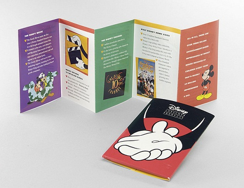 travel brochure examples - disney