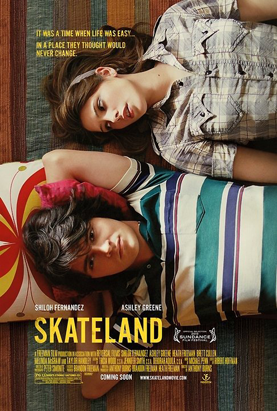 Upcoming Movie Posters- Skateland