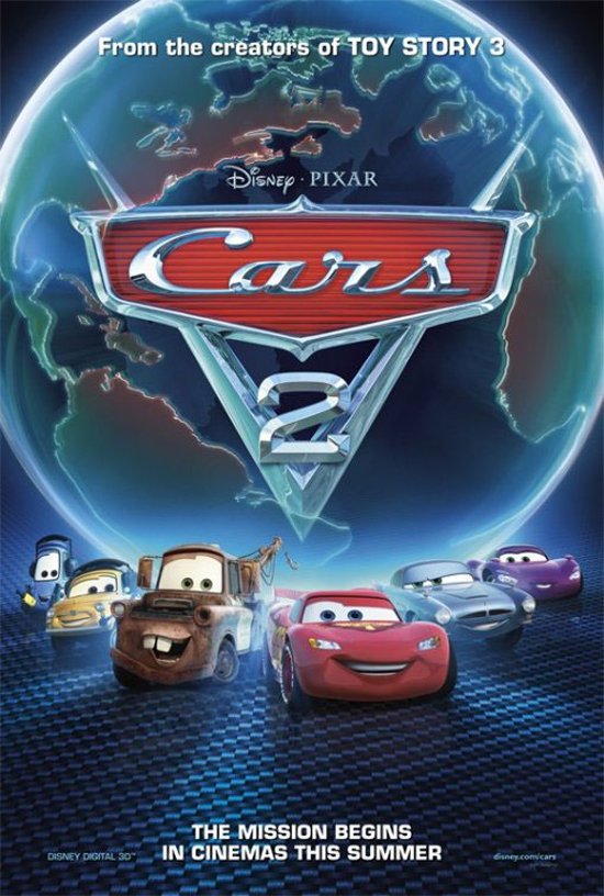 Upcoming Movie Posters - Cars 2