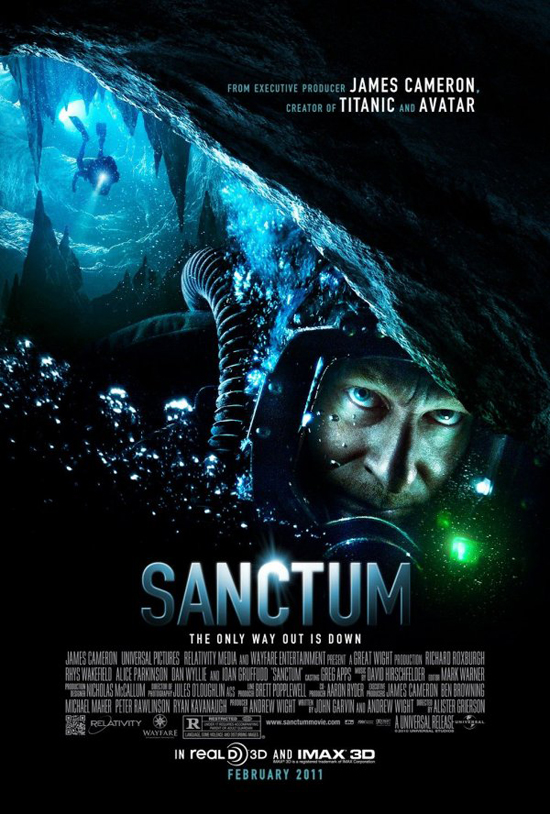 Upcoming Movie Posters - Sanctum