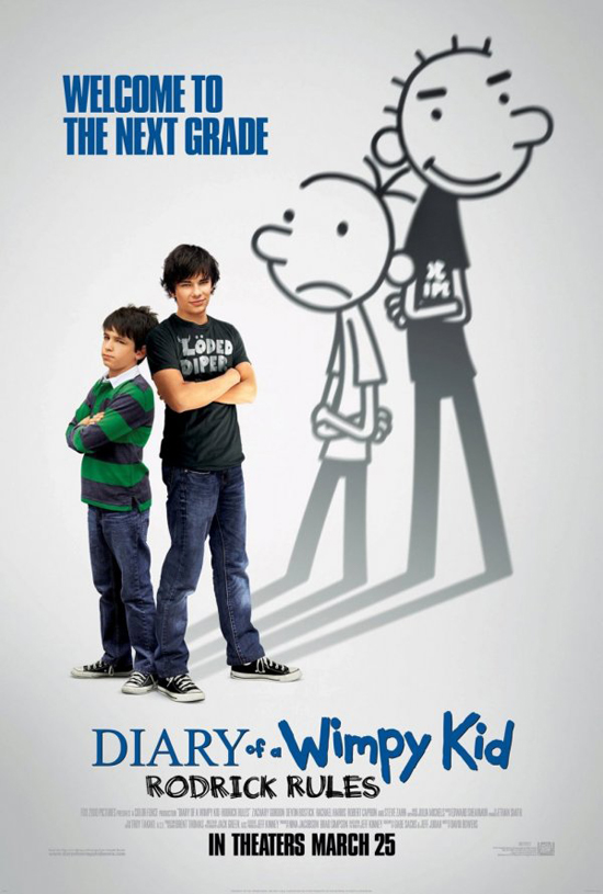Upcoming Movie Posters - Diary of a Wimpy Kid: Rodrick Rules