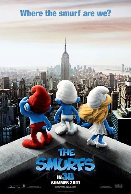 Upcoming Movie Posters - The Smurfs