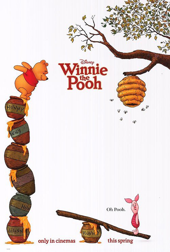 Upcoming Movie Posters - Winnie The Pooh