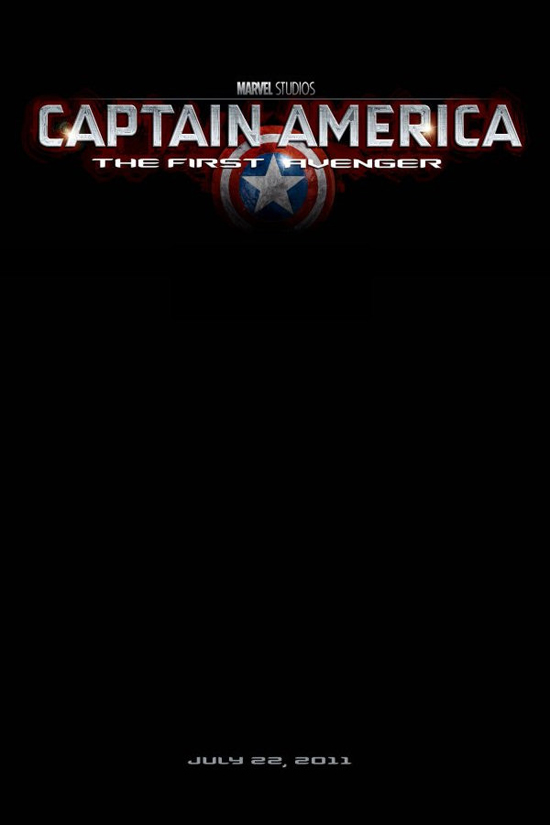 Upcoming Movie Posters - Captain America: The First Avenger