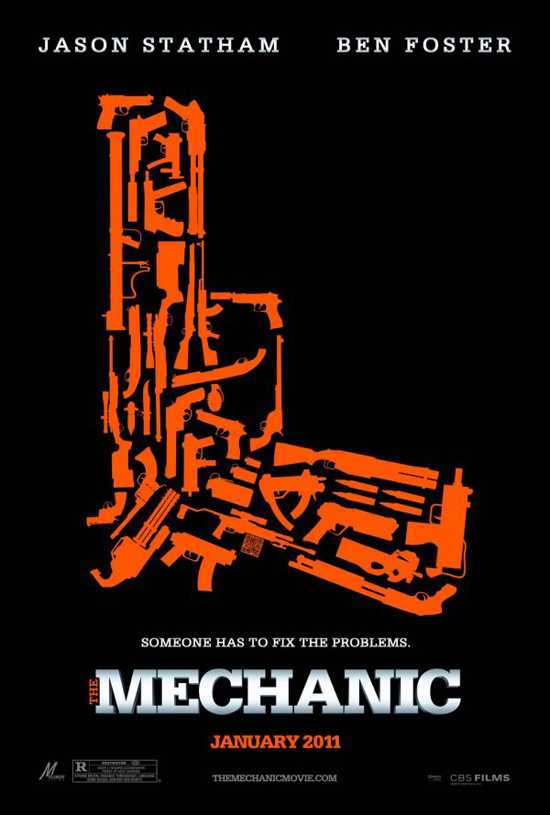 Upcoming Movie Posters - The Mechanic