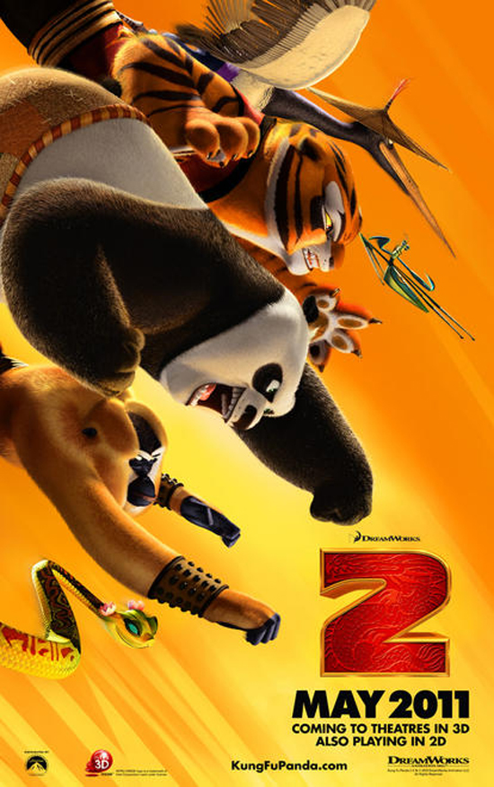 Upcoming Movie Posters - Kung Fu Panda 2